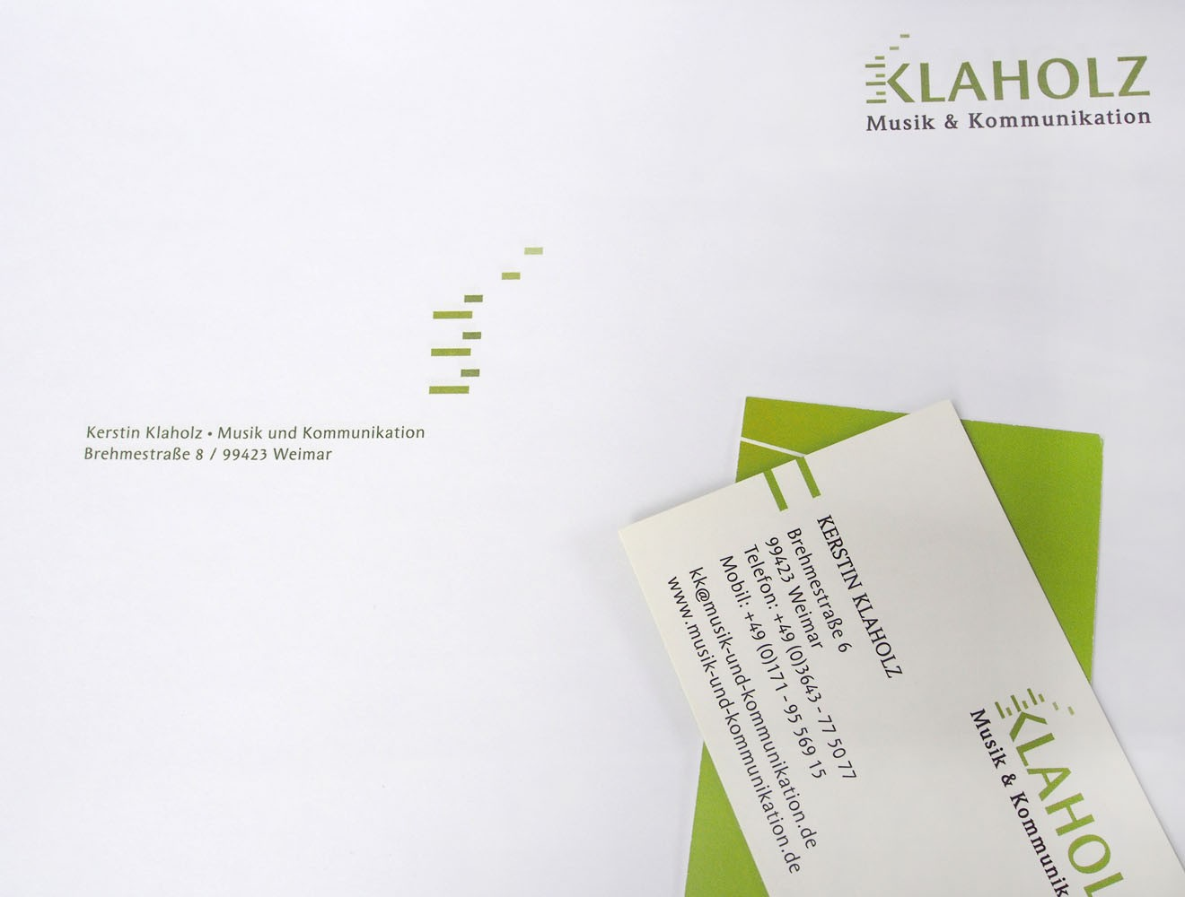 Klaholz // Geschäftsausstattung