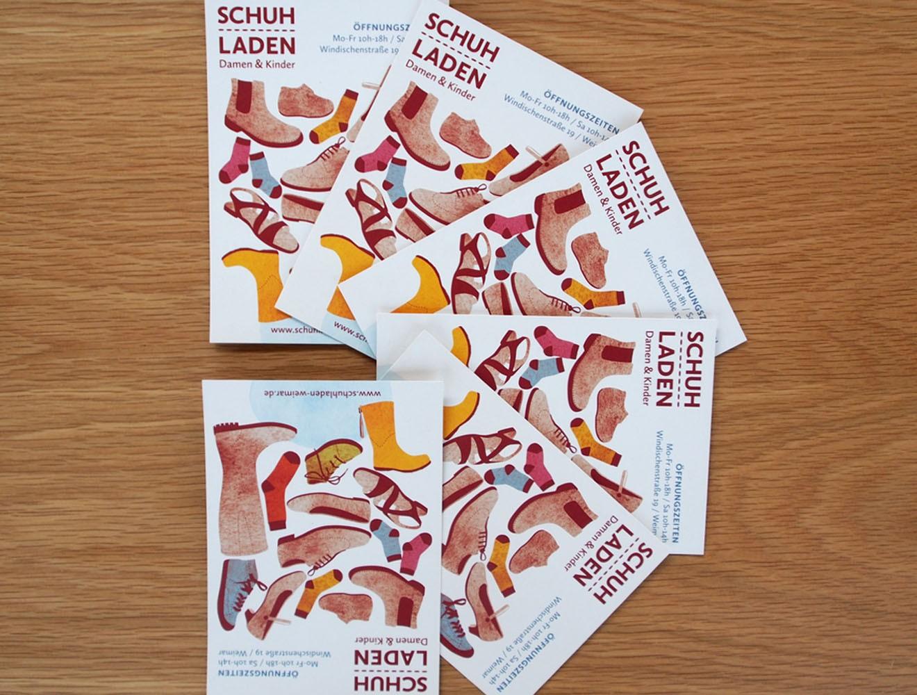 Schuladen // Postkarten