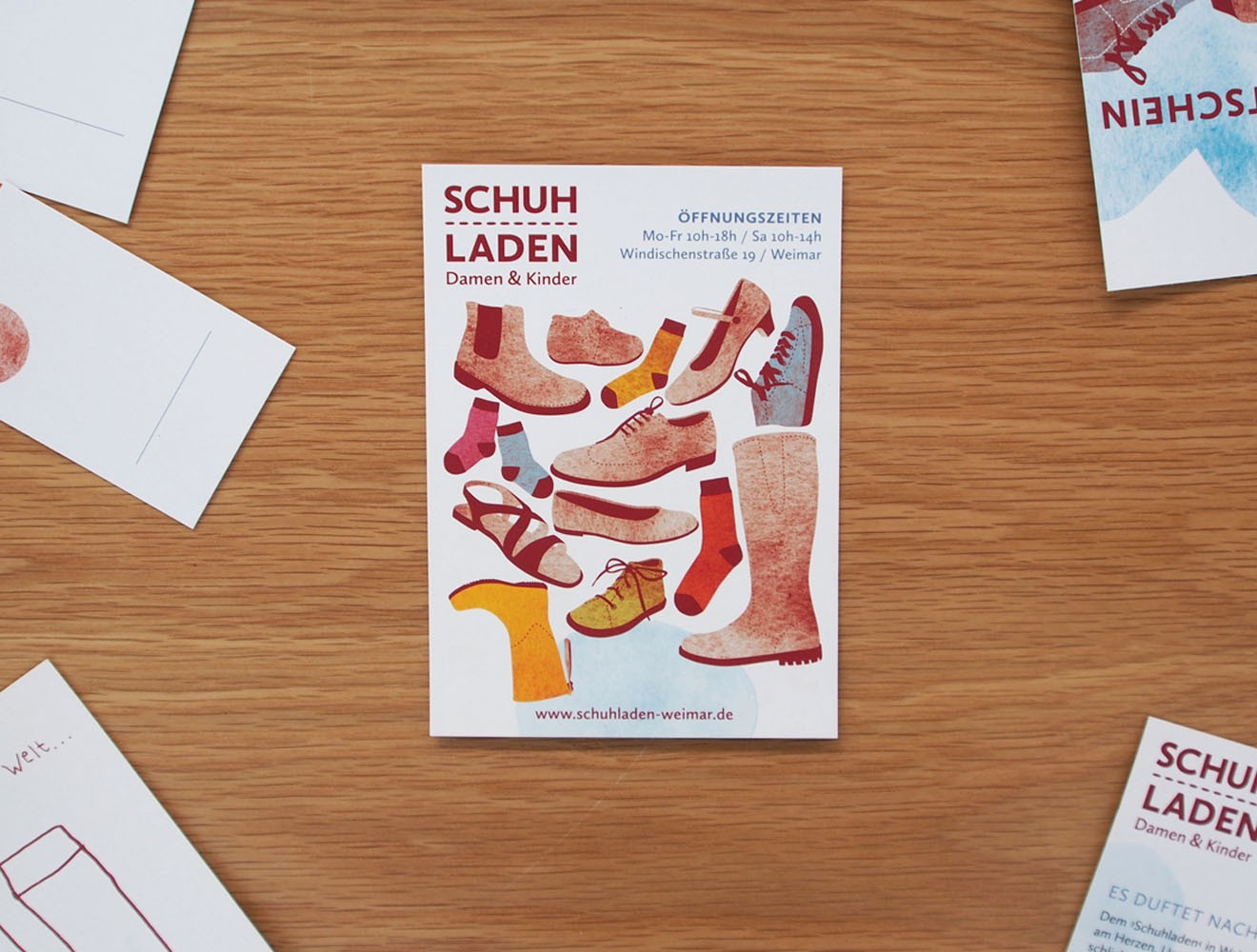 Schuladen // Postkarte