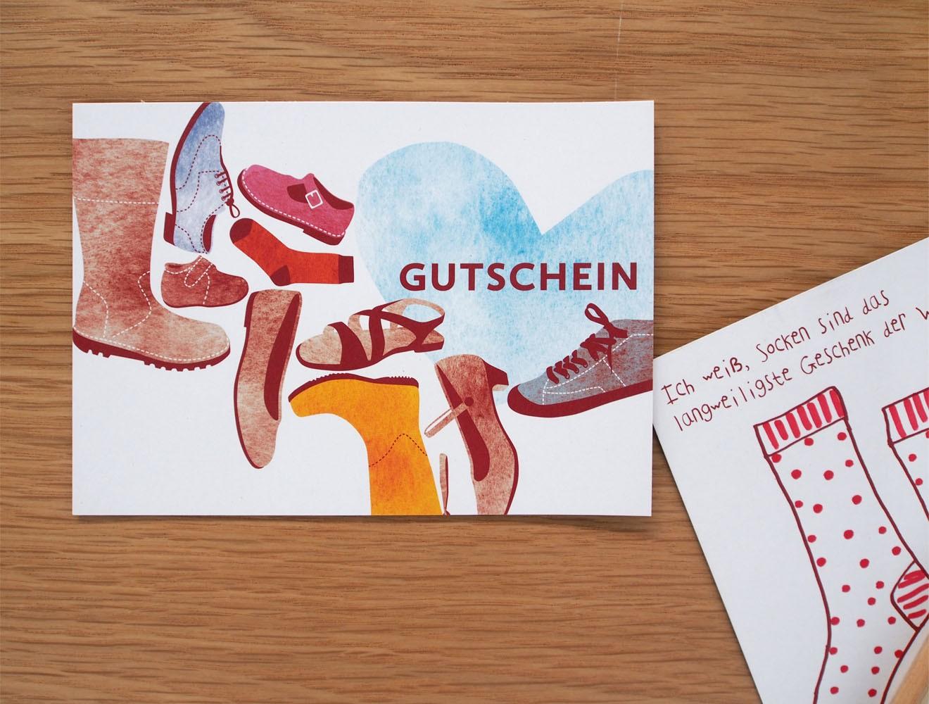 Schuladen // Gutschein
