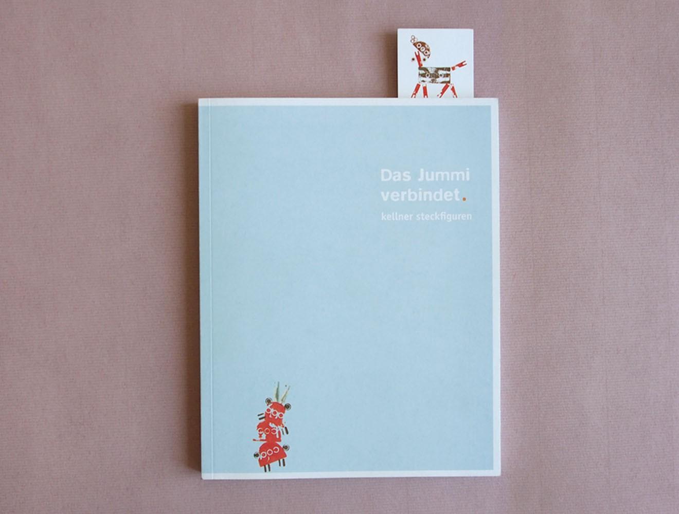 Kellner Steckfiguren // Broschüre / Titel
