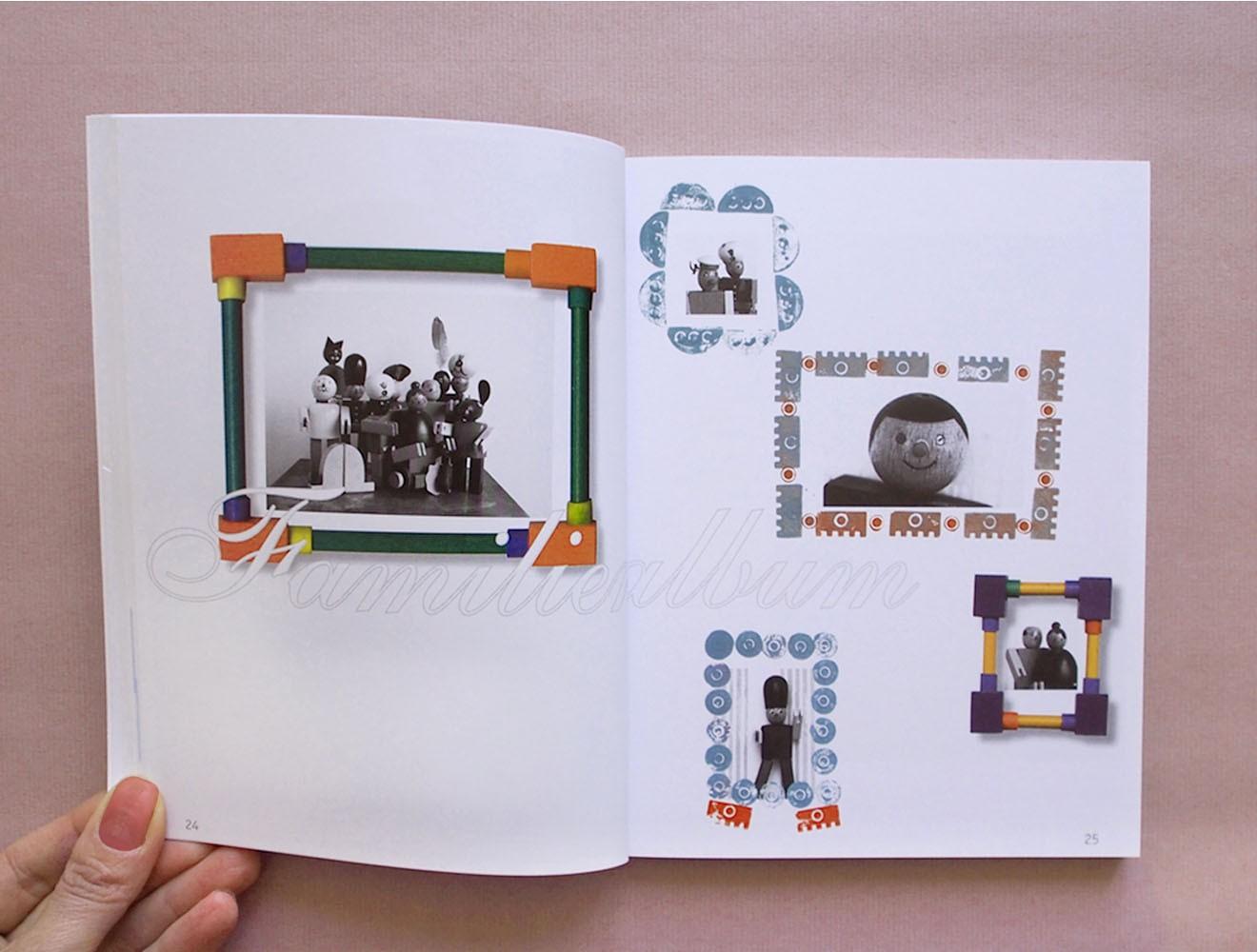 Kellner Steckfiguren // Broschüre / Innenseite / Ahnengalerie