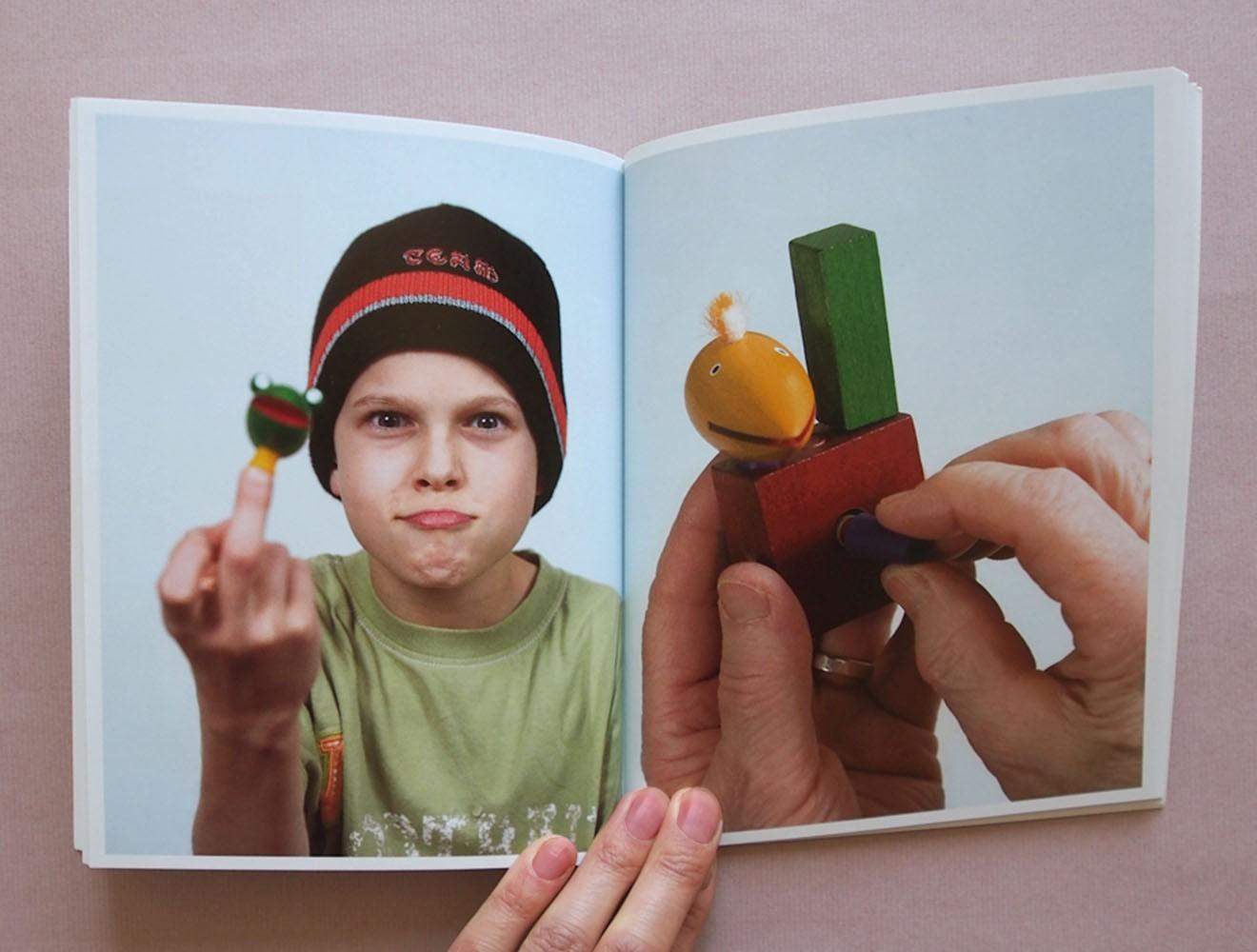 Kellner Steckfiguren // Broschüre / Innenseite
