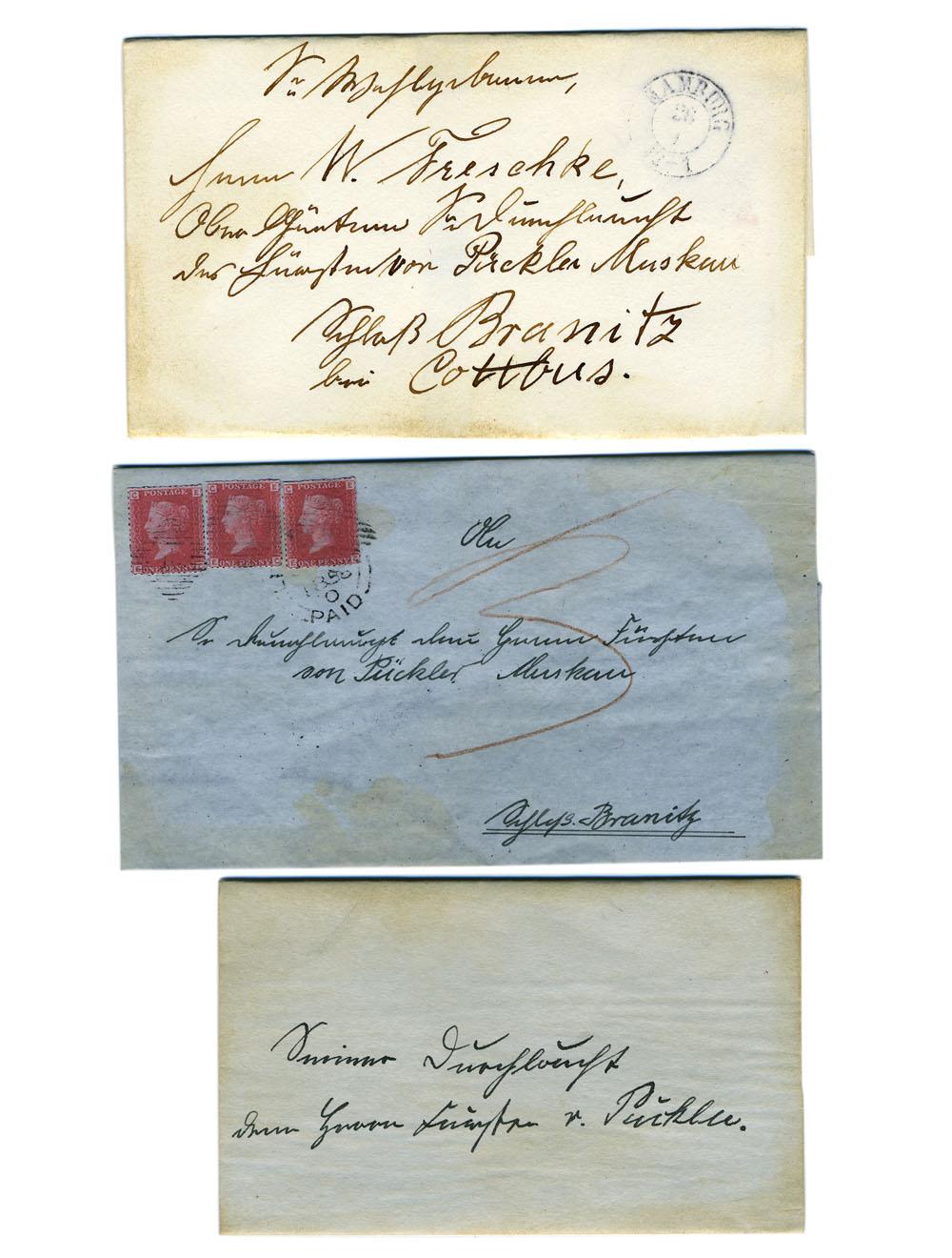 Fürst Pückler // Repliken / Briefe