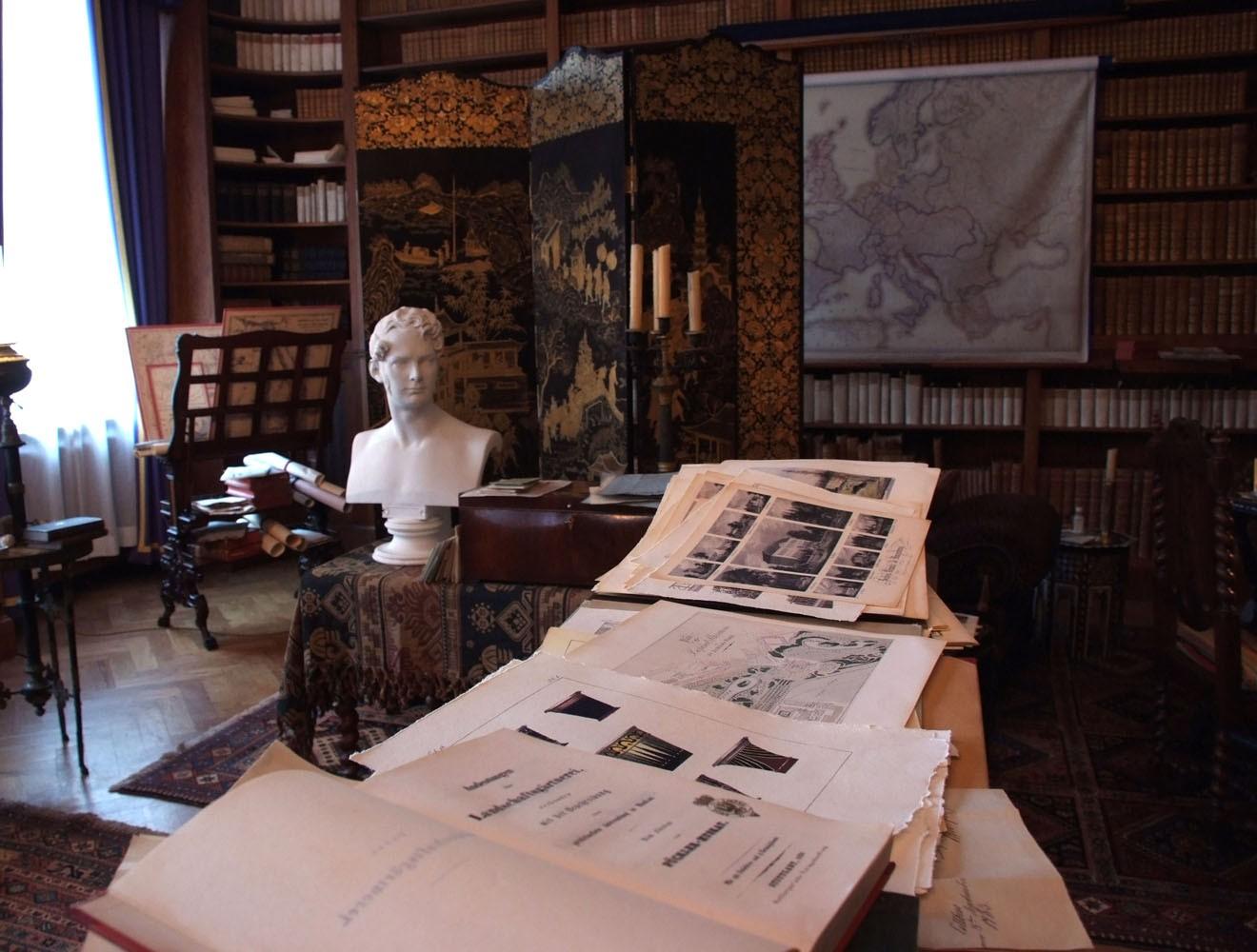 Fürst Pückler // Bibliothek / Bücher / Stiche