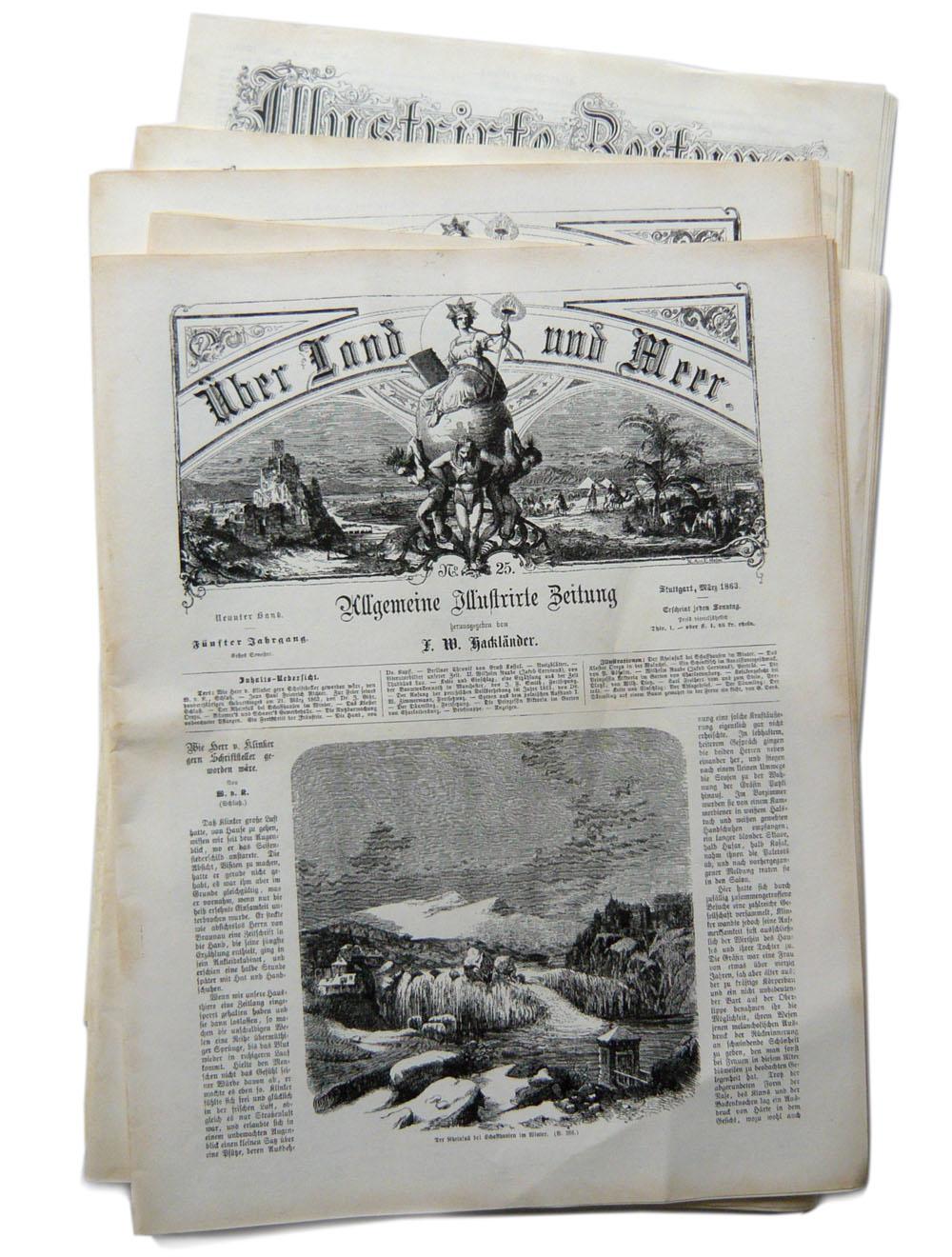Fürst Pückler // Repliken / Zeitungen