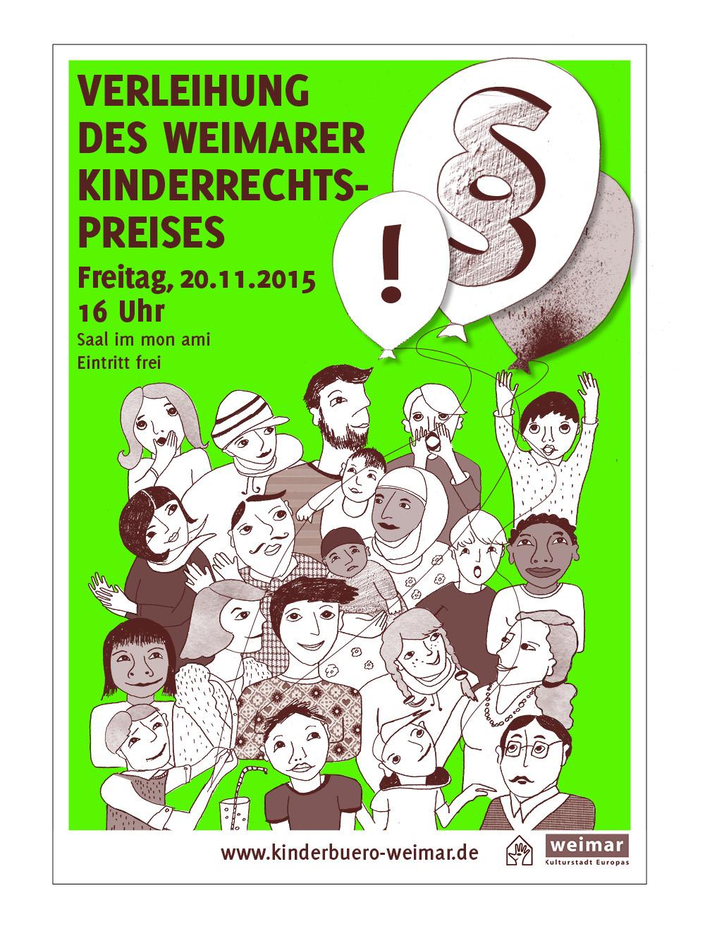 Kinderbüro // Plakat / Kinderrechtspreisvereihung