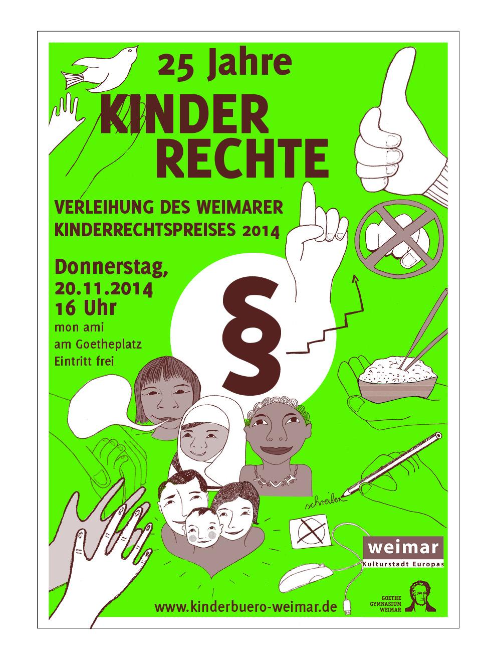 Kinderbüro // Plakat / Kinderrechtspreisverleihung