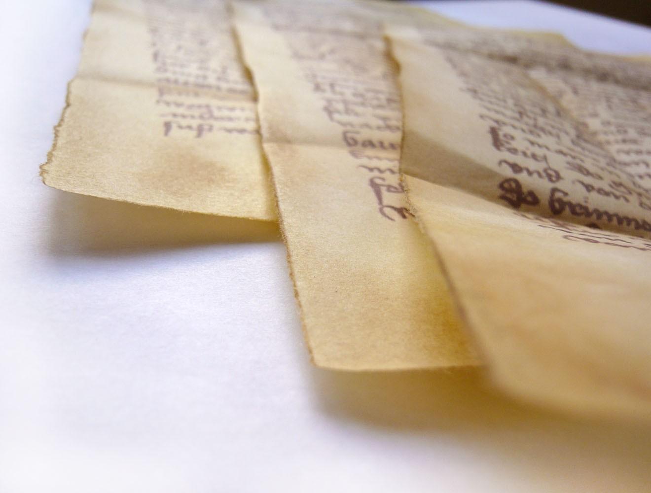 Spezialrequisite // Kolumbusbriefe auf Pergament (um 1480)