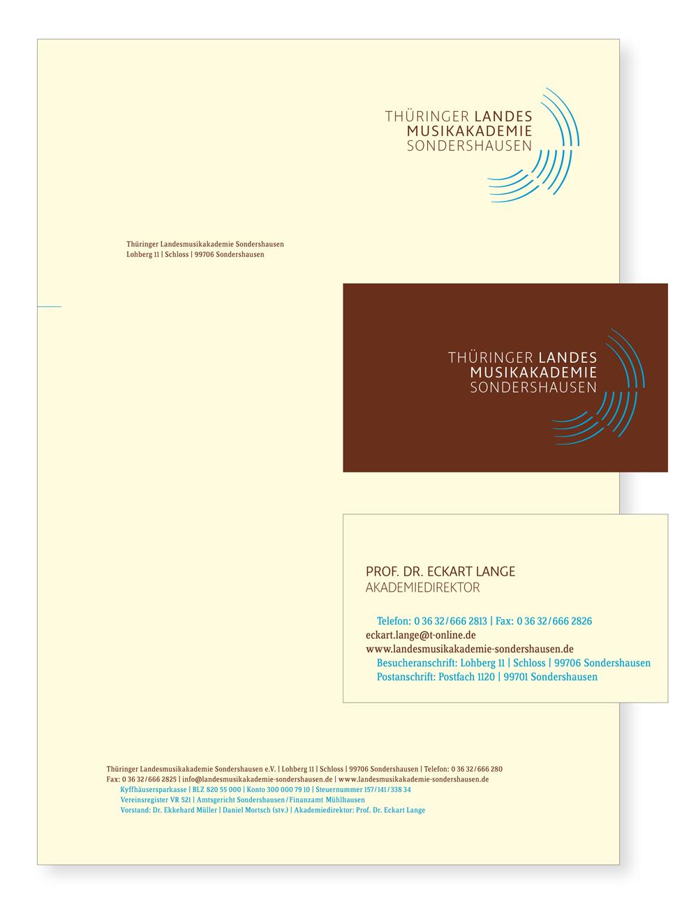 LMA // Briefbogen / Visitenkarten