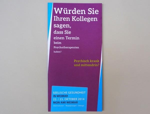 Seelische Gesundheit // Folder