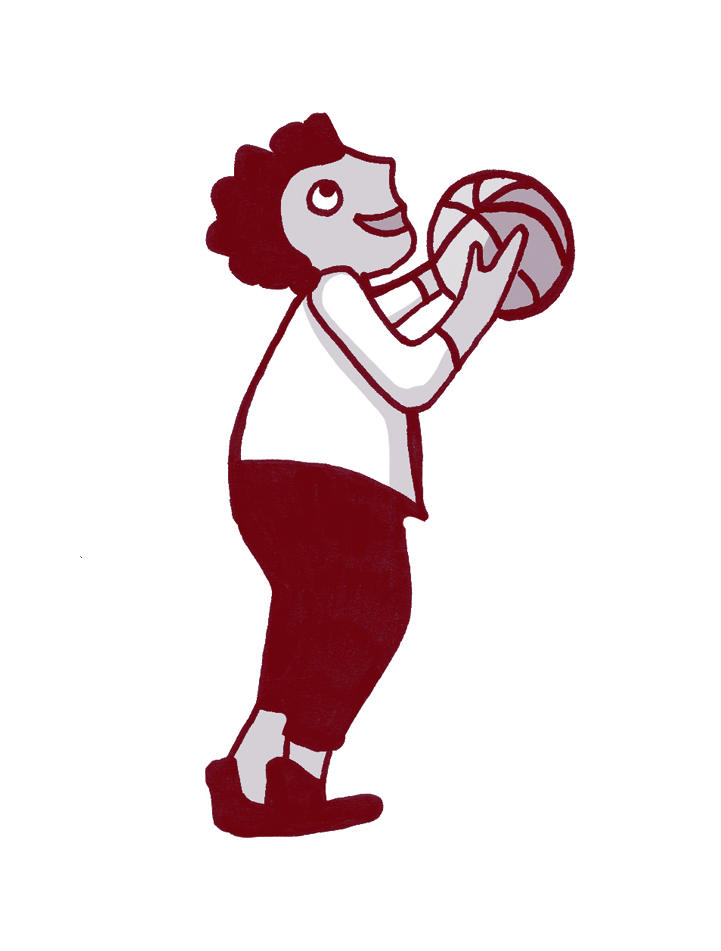 Illustartion Basketballer
