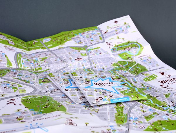 Kinderstadtkarte Weimar